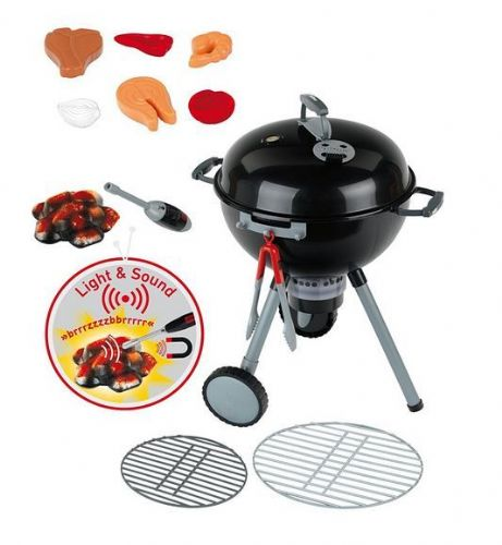 Childrens Weber Toy  Kettle Barbecue Light and sound  NEW!